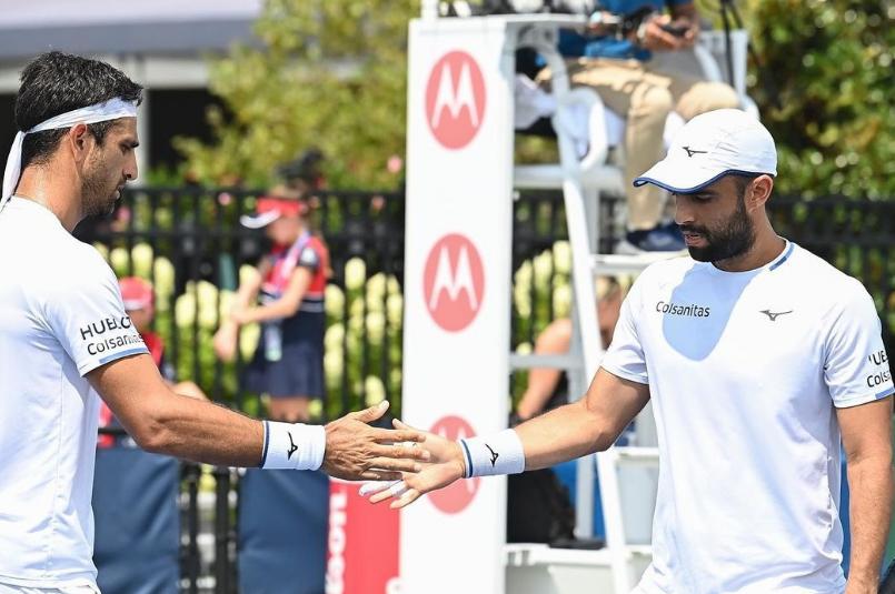 Juan Sebastián Cabal y Robert Farah clasificaron a semifinal del Masters 1000 de Cincinnati
