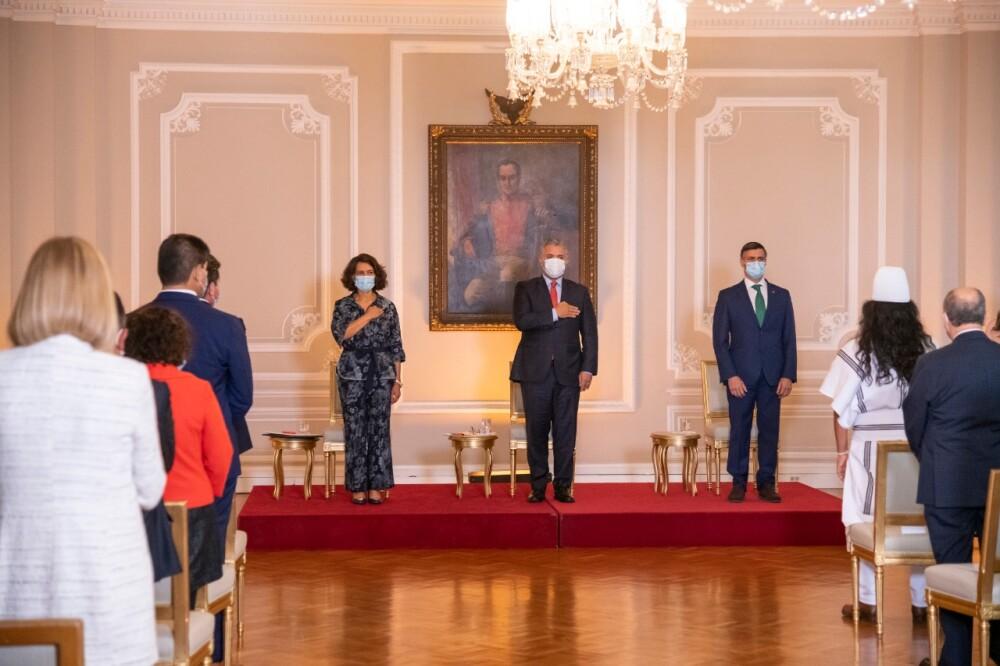 Duque con Leopoldo López