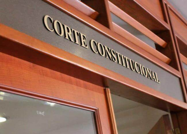 Corte Constitucional - Foto Rama Judicial