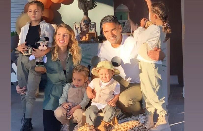 Familia de Radamel Falcao García