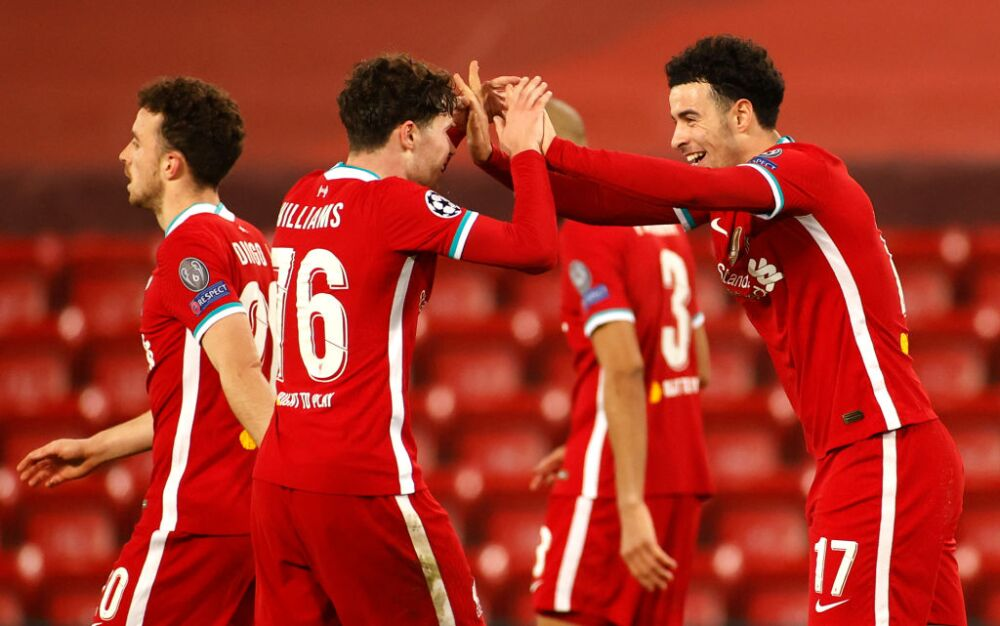 Liverpool celebra vs Ajax