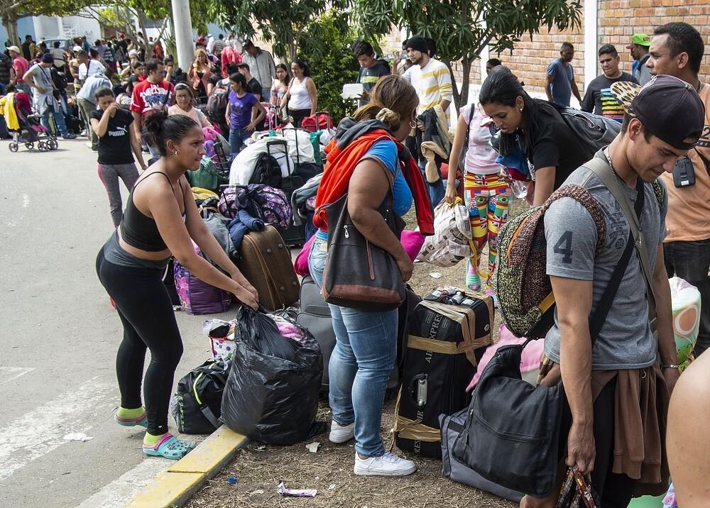336493_BLU Radio. Venezolanos en Perú // Foto: AFP