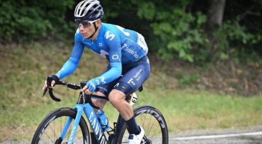 Miguel Ángel López ocupa el puesto 35 del Tour de Francia.