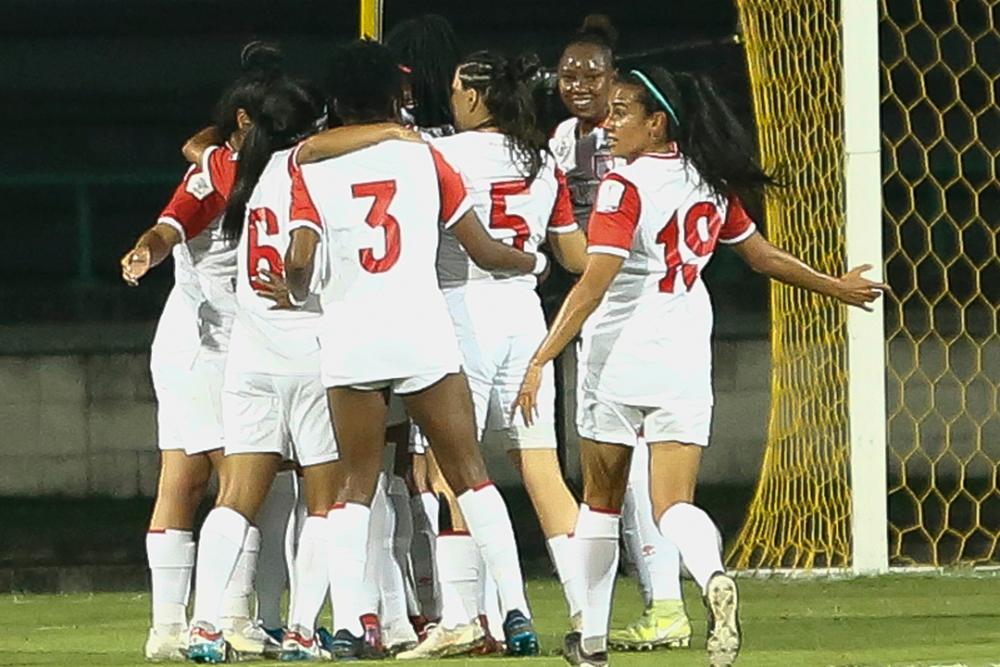 Jugadoras de Independiente Santa Fe femenino. Colprensa.png