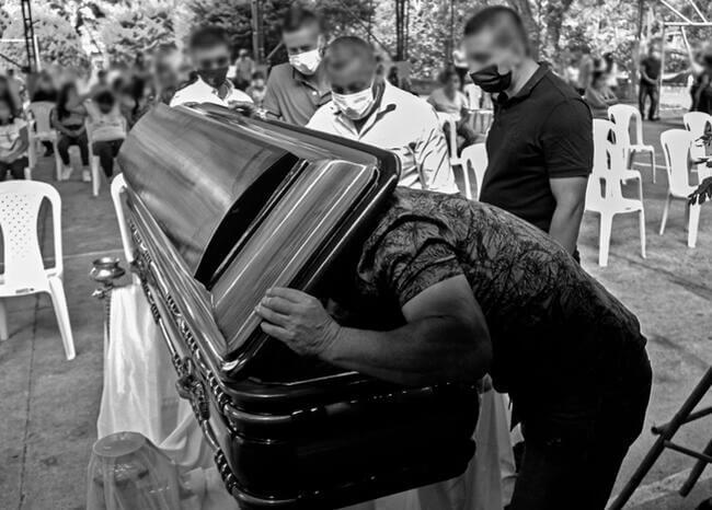 Masacre en Samaniego / Foto: AFP
