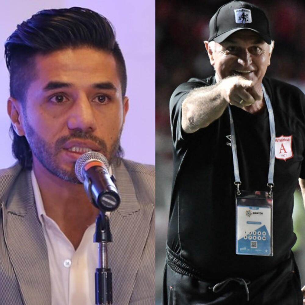 Fabián Vargas y 'Pecoso' Castro