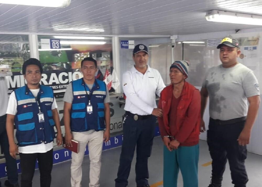 335429_BLU Radio. Venezolano expulsado por delito de hurto agravado // Foto: Migración Colombia