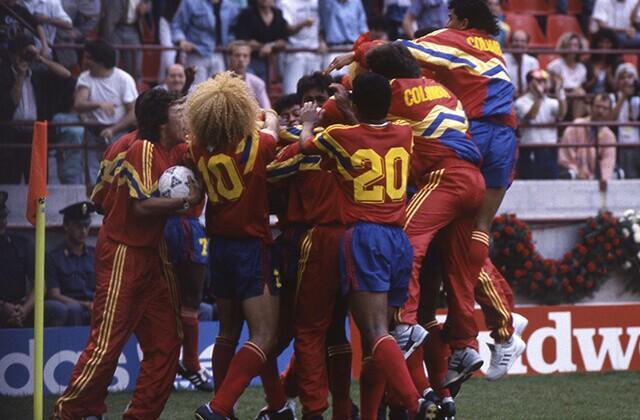 339863_Selección Colombia en el Mundial de Italia 90