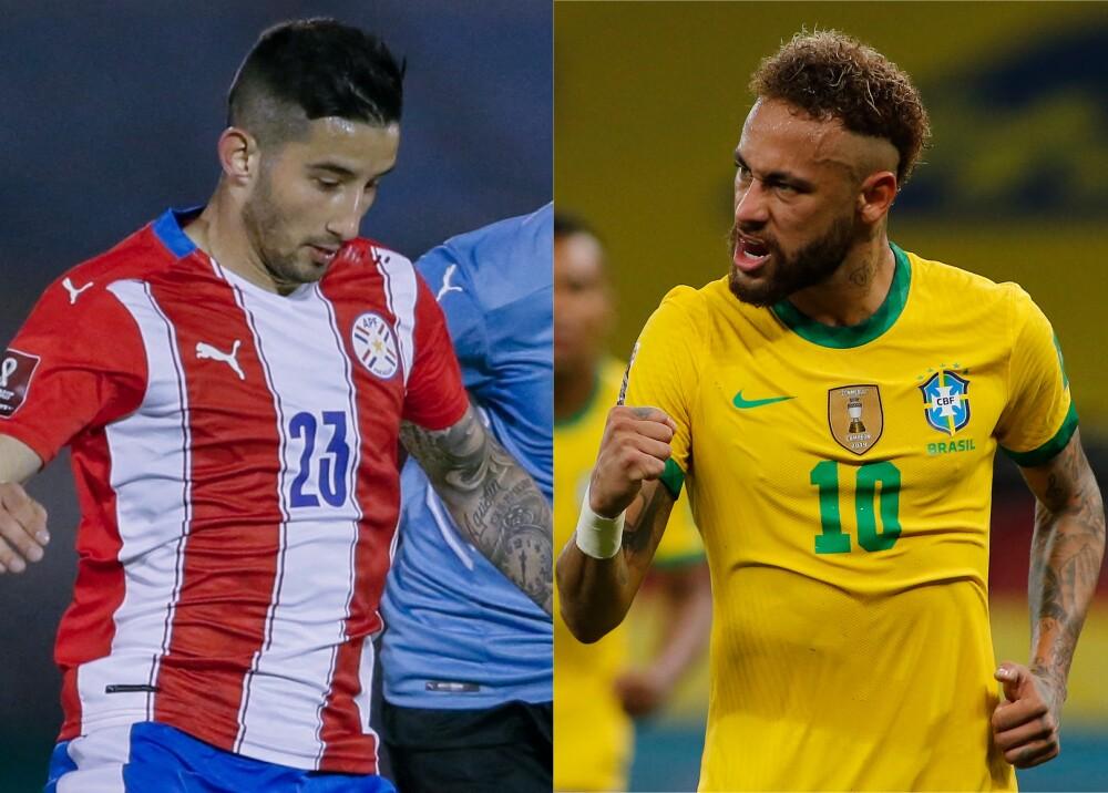 Selección de Paraguay y Brasil Foto AFP.jpg