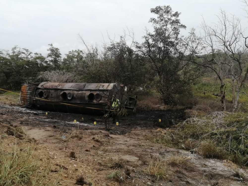 370091_Explosión de camión cisterna en Magdalena. Foto: BLU Radio