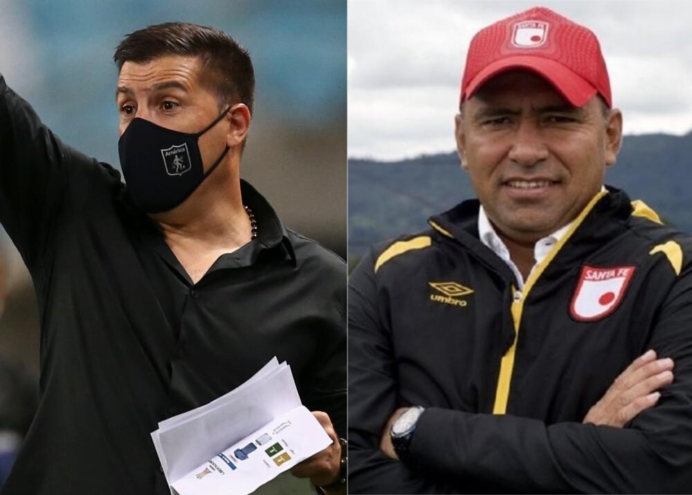 Juan Cruz Real Harold Rivera Fotos AFP y Santa Fe