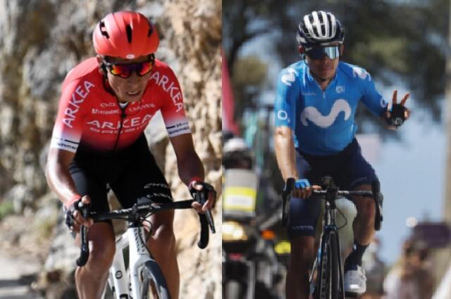 Nairo Quintana y Miguel Ángel López parten como favoritos al título del Critérium del Dauphiné.