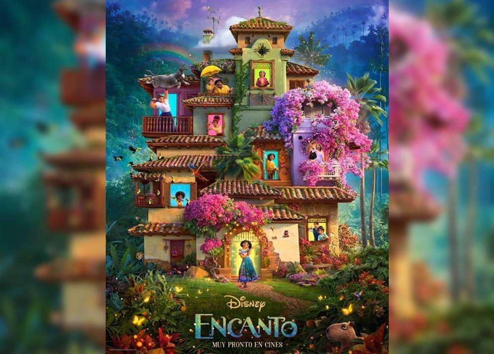 Afiche de la película Encanto de Disney