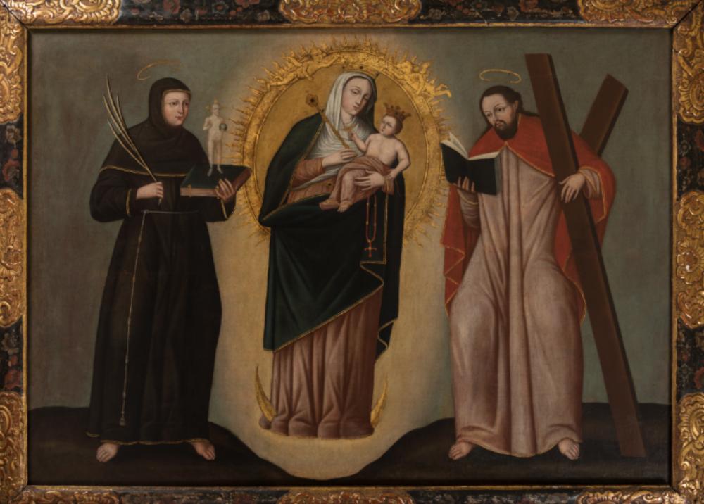 317573_Blu Radio // Virgen de Chiquinquira // Foto: Museo Colonial