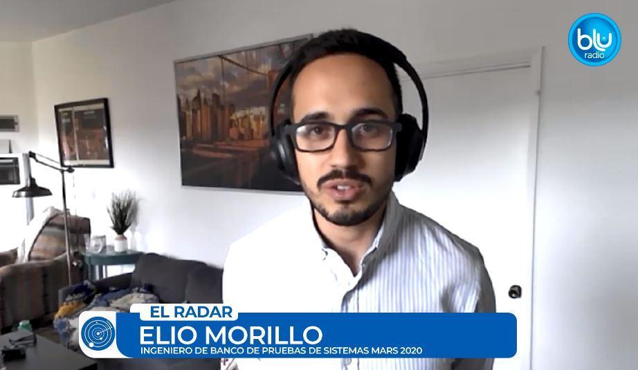 Elio Morillo, el ingeniero latino que trabaja en la misión de la Nasa.JPG