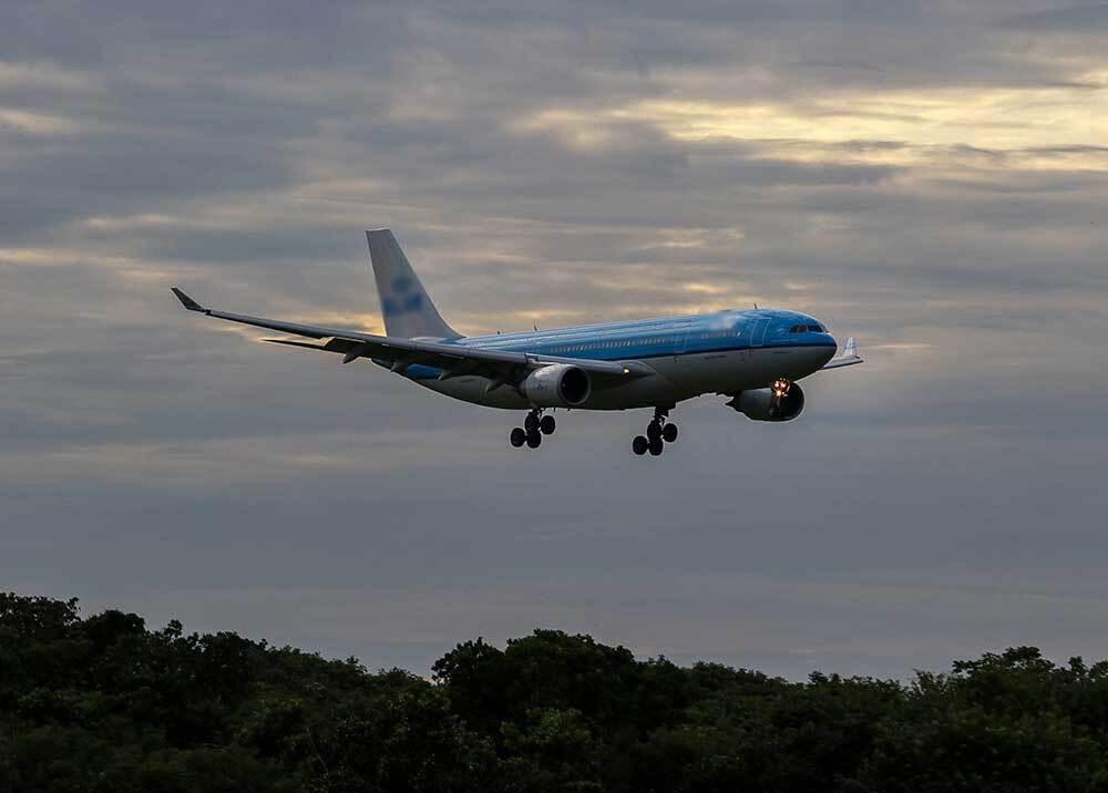 331784_BLU Radio // Desvío en vuelos sobre la Amazonía // Foto: AFP