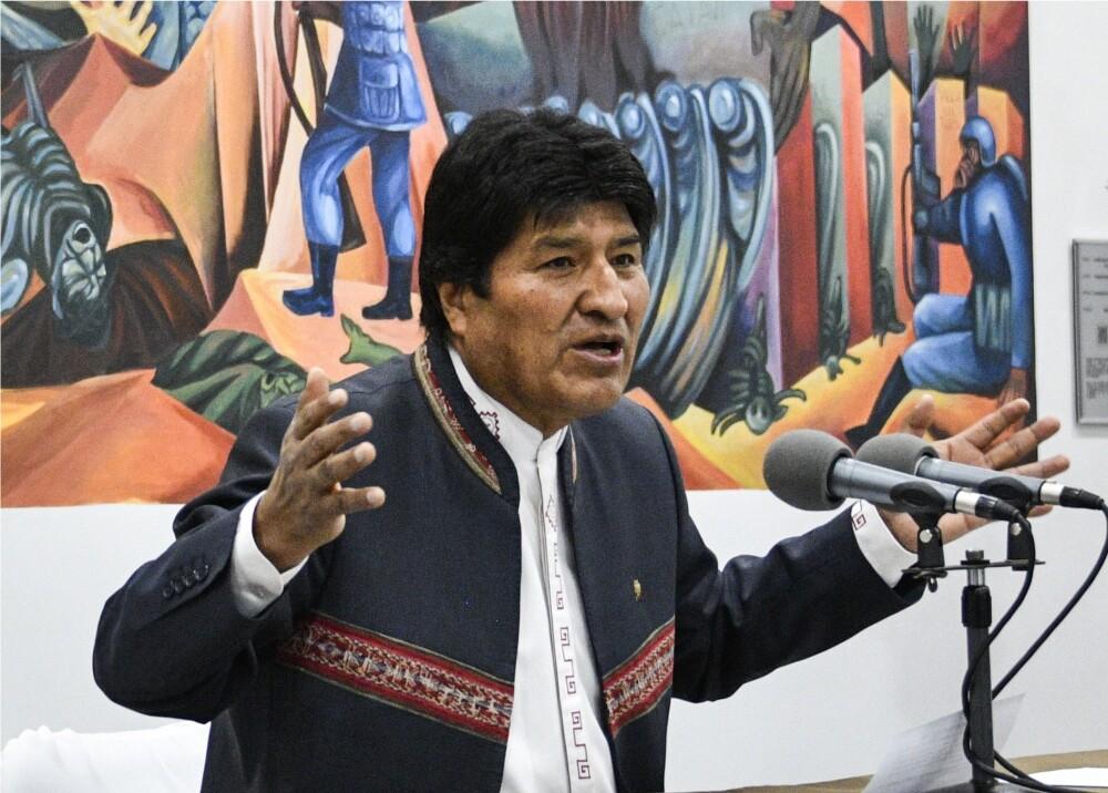 346827_BLU Radio. Evo Morales // Foto: AFP