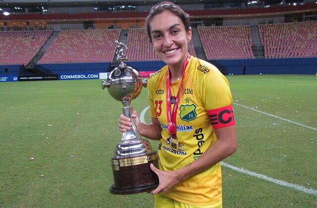 338575_Gavy Santos, capitana del Atlético Huila femenino