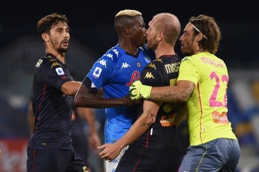 Napoli v Genoa CFC - Serie A