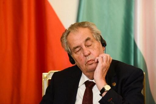 Milos Zeman, presidente de República Checa