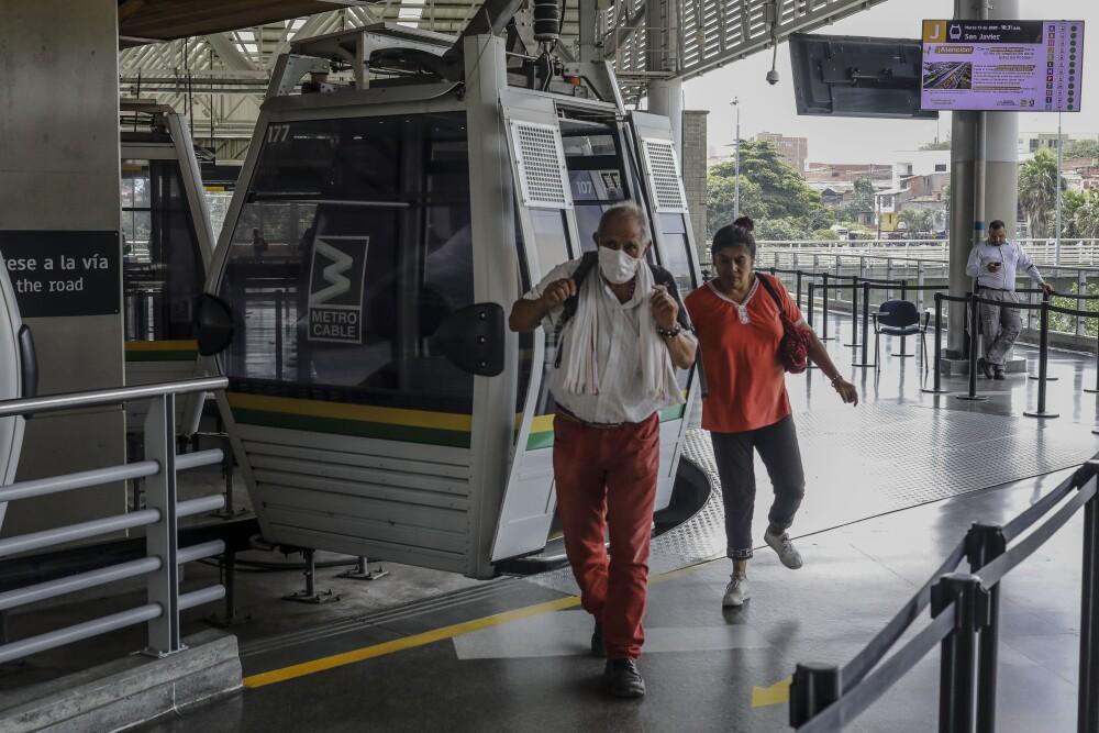 358011_Coronavirus en Medellín. Foto: AFP