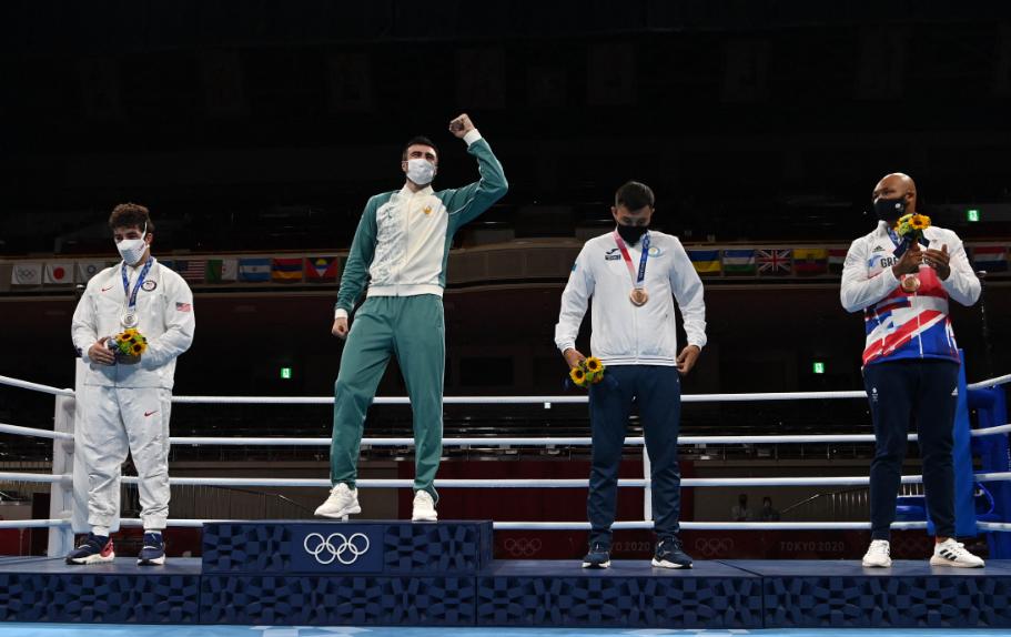 Estados Unidos se quedó sin oros en el boxeo de los Juegos Olímpicos Tokio 2020.