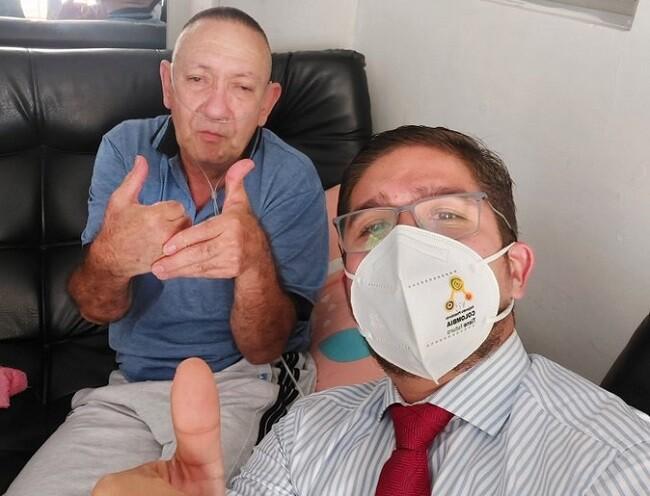Juzgado ordenó que Víctor Escobar puede acceder a eutanasia en su condición de paciente no terminal