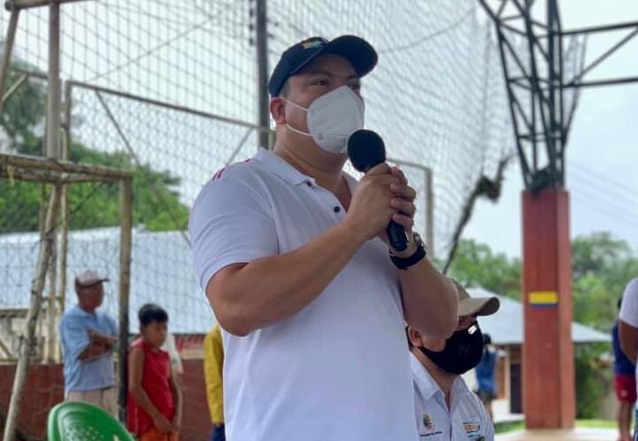 Jesús Galdino Cedeño, gobernador de Amazonas