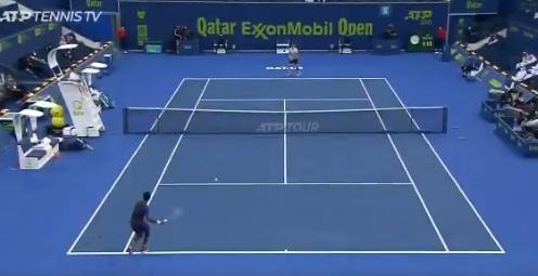 Alexander Bublik derrotó a Ramkumar Ramanathan en el ATP 250 de Doha.