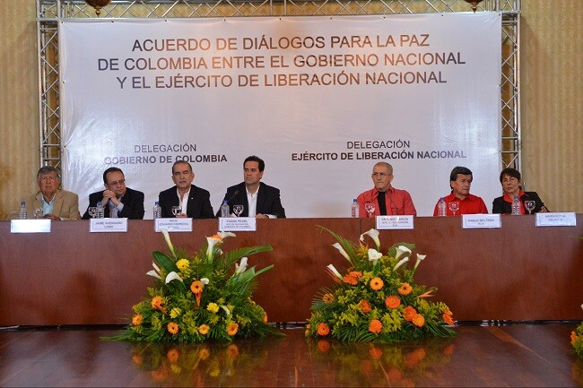 diálogos entre Gobierno y el ELN