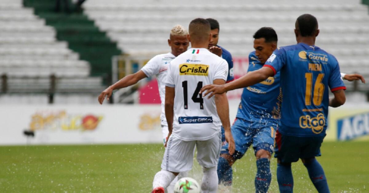 Los ocho de la Liga del fútbol colombiano en suspenso por Once Caldas vs. Medellín
