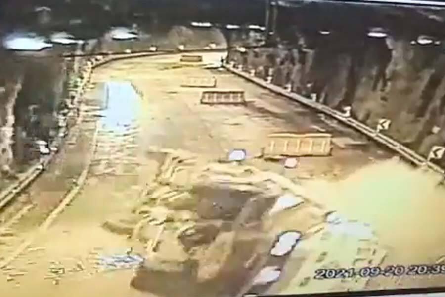 Accidente Vía al Llano
