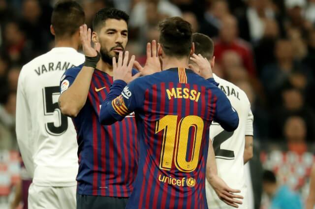 322870_Luis Suárez y Lionel Messi