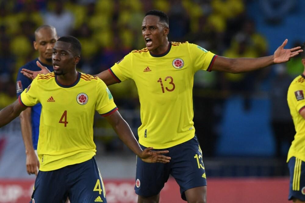 Yerry Mina, defensor de la Selección Colombia..jpeg
