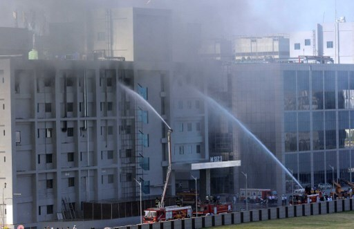 Fire breaks out at Serum Institute of India in Pune