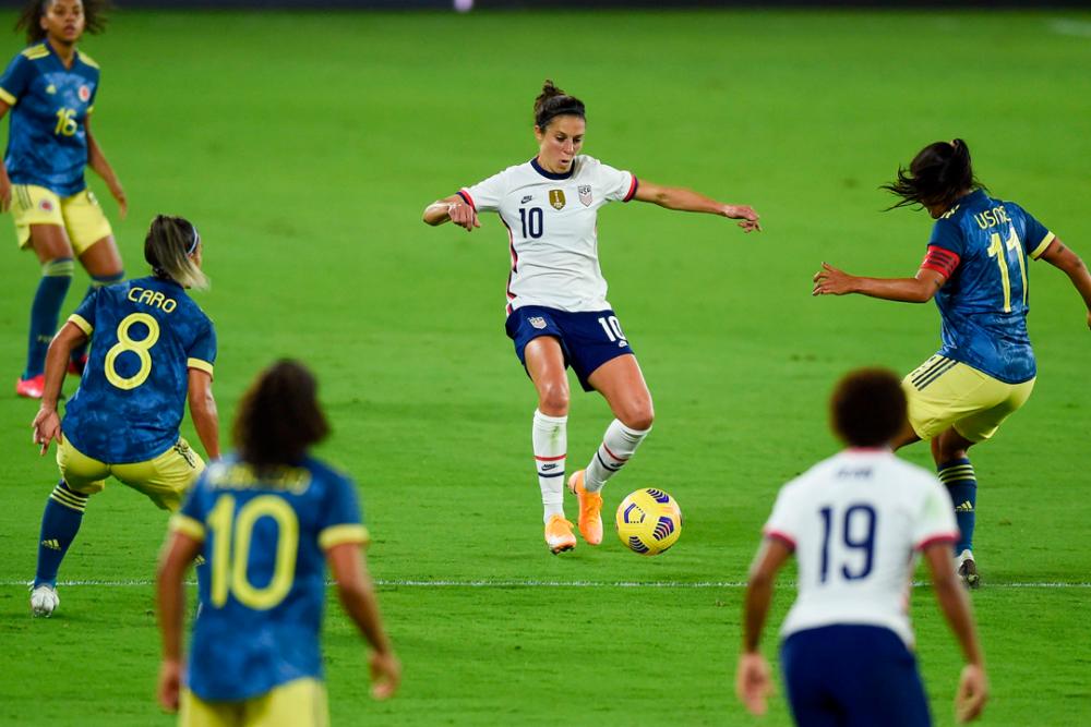 Partido preparatorio entre la Selección Colombia Femenina y Estados Unidos