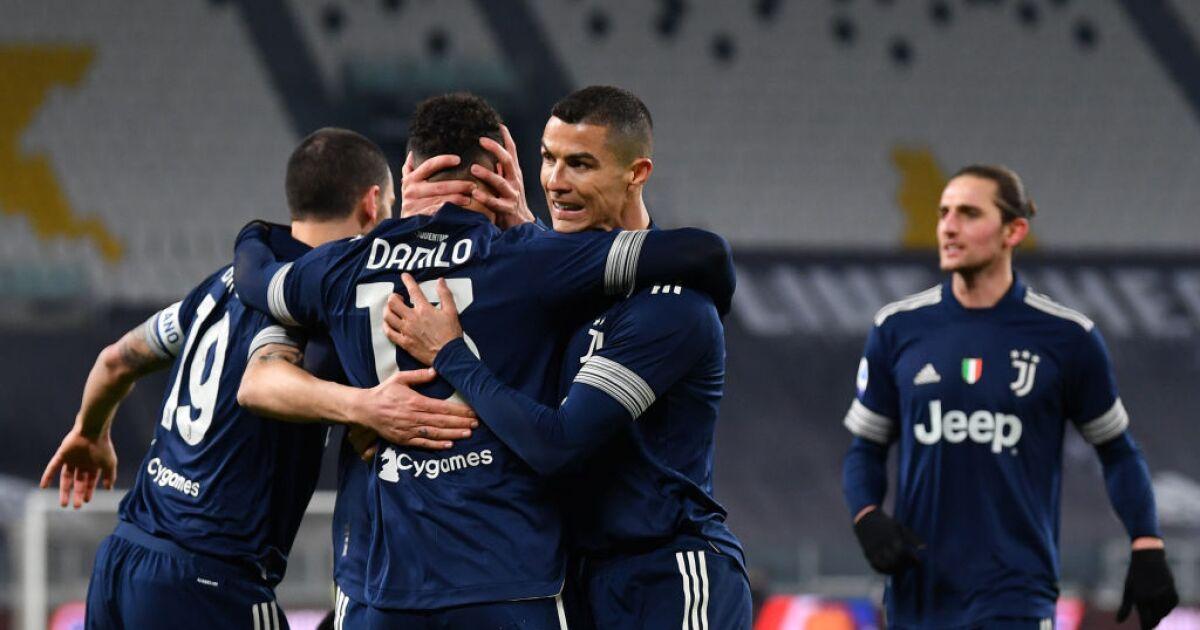 Juventus y una victoria sufrida en Turín: se impuso 3-1 frente a Sassuolo, por la Liga de Italia