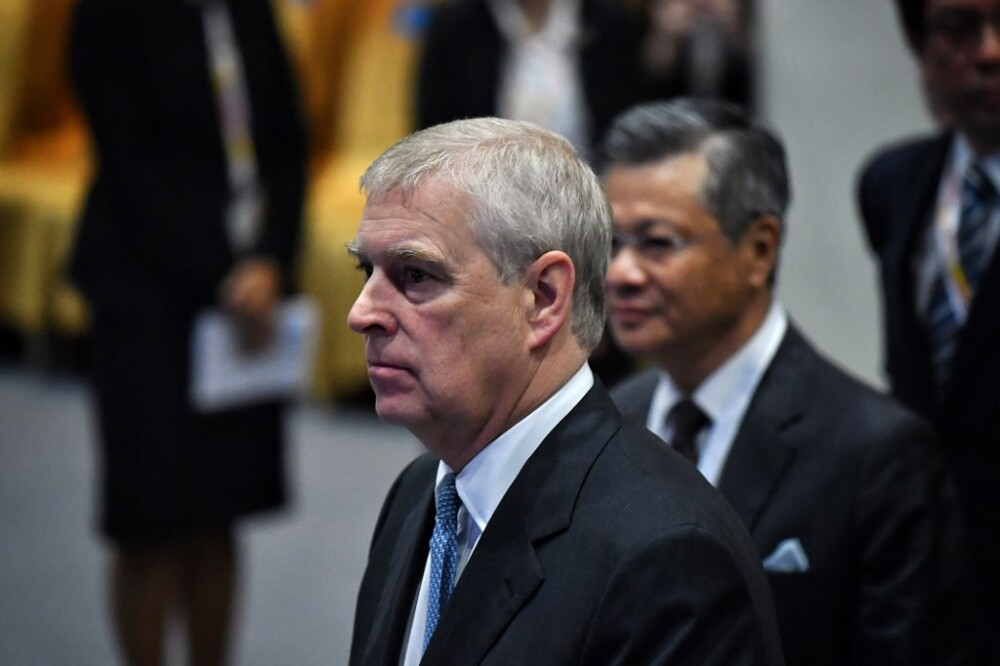 Príncipe Andrés denunciado por abuso sexual