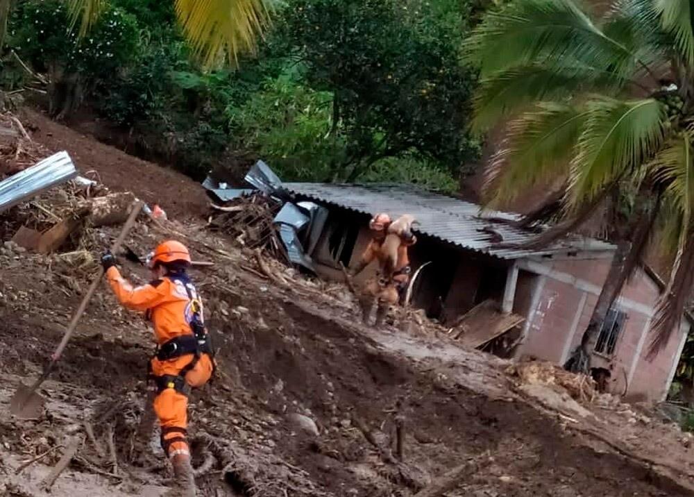 Consecuencias del invierno en Dabeiba, Antioquia / Foto Cortesía Defensa Civil