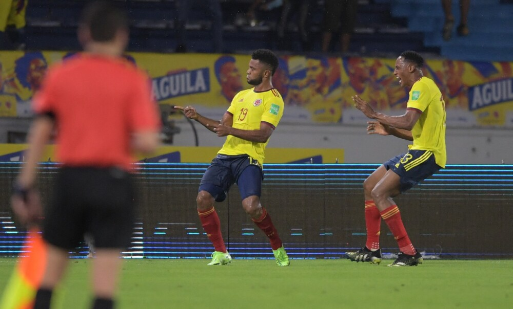 Selección Colombia Borja argentina AFP.