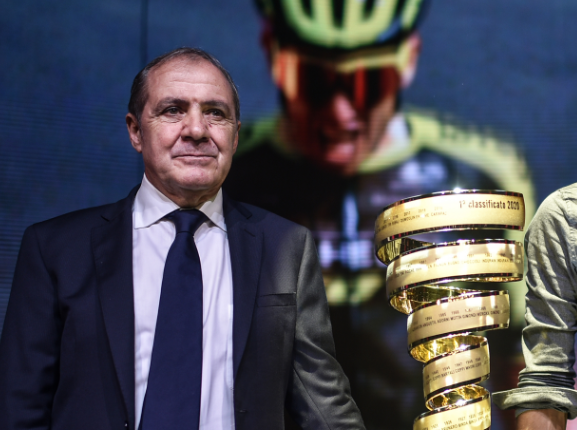 Mauro Vegni, director del Giro de Italia.