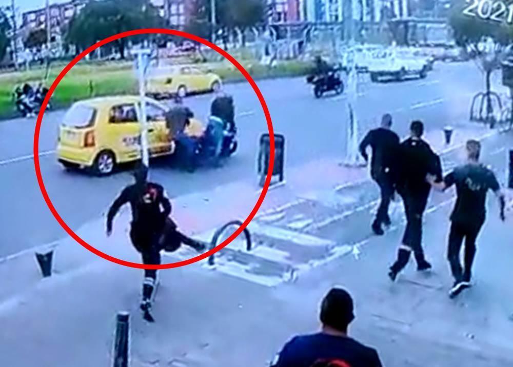 Asesinato de taxista en Bogotá