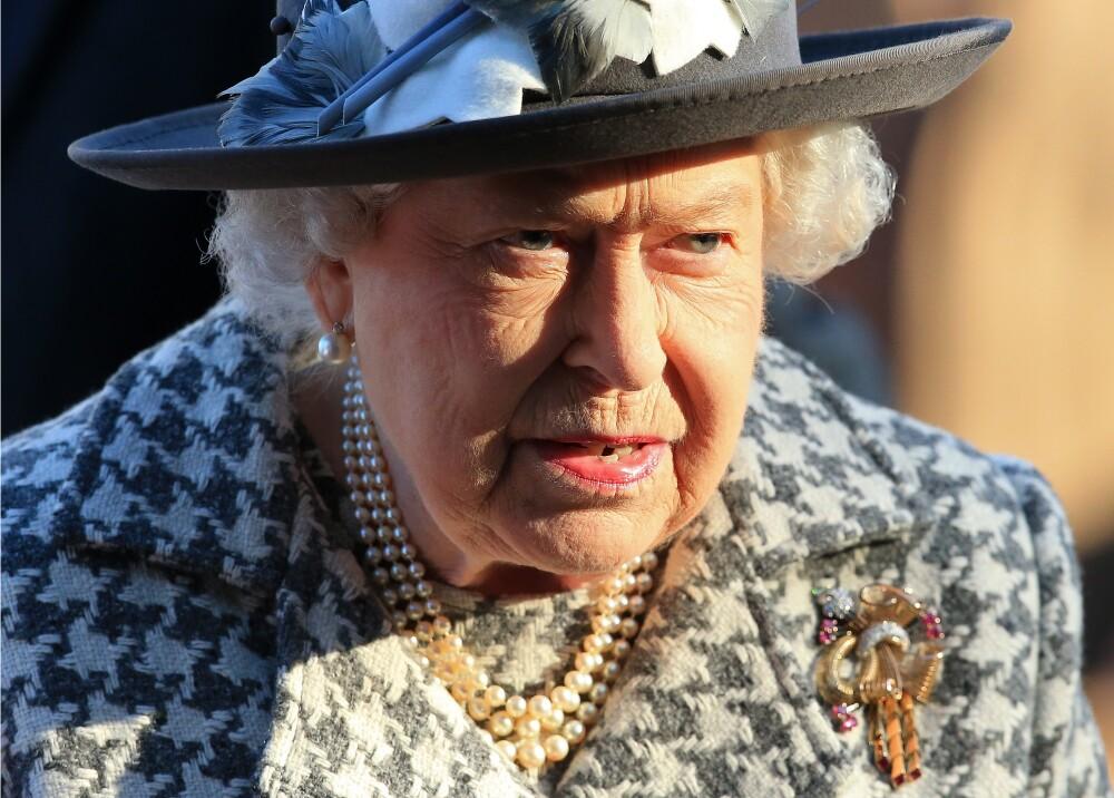 353433_Reina Isabel II // Foto: AFP