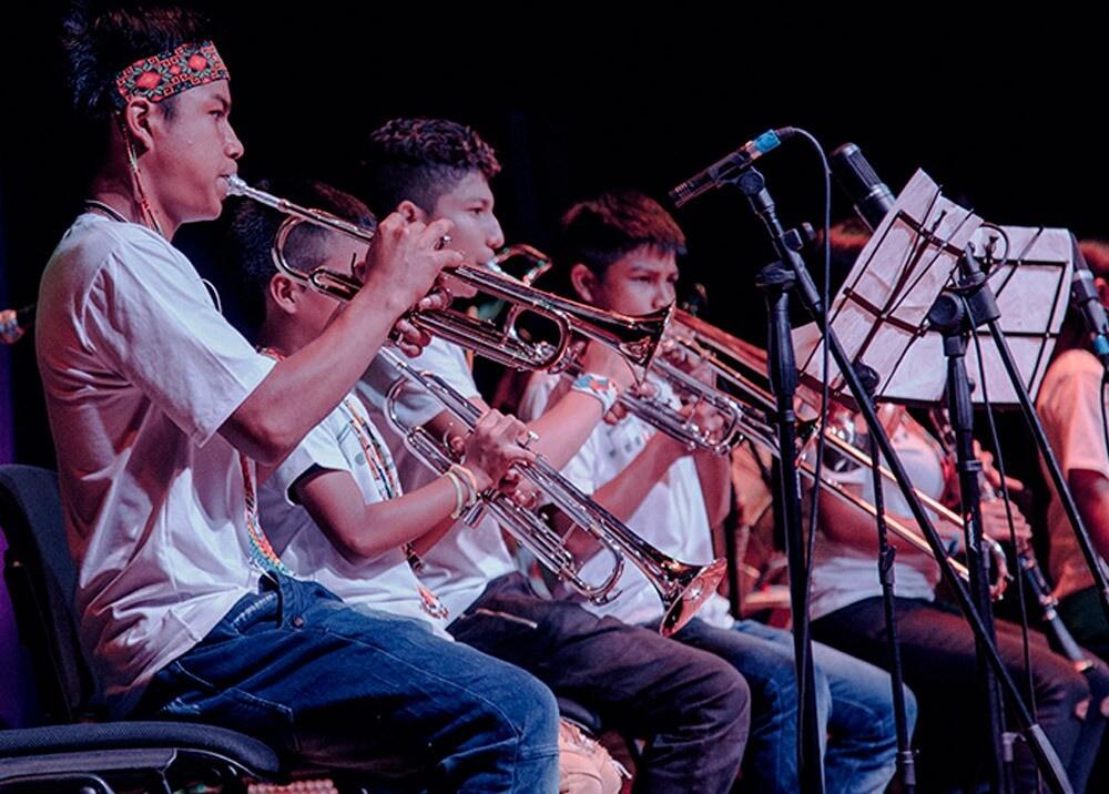 Filarmónica Embera Chamí : Foto: cortesía Música la Paz.jpeg