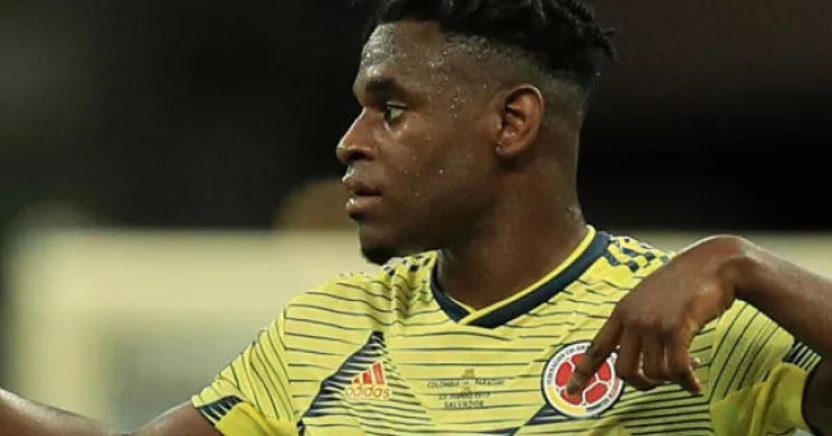 Conexión Gustavo Cuéllar y Duván Zapata y Colombia avisó a Perú, en el partido de Eliminatorias