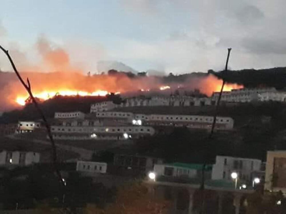 313523_Blu Radio. Incendio en Santander / Foto: suministrada