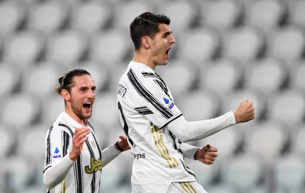 Alvaro Morata, celebra - Juventus