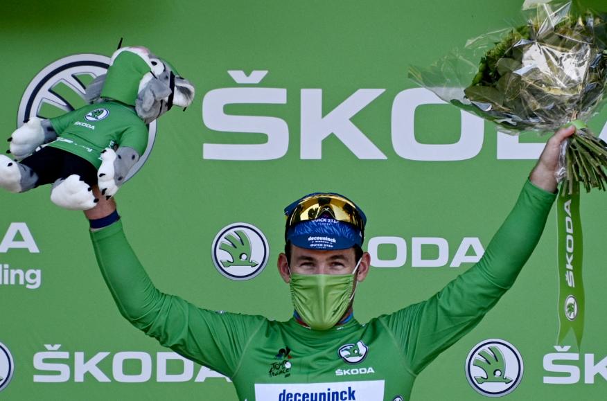 Mark Cavendish llegó a 34 victorias en la historia del Tour de Francia.