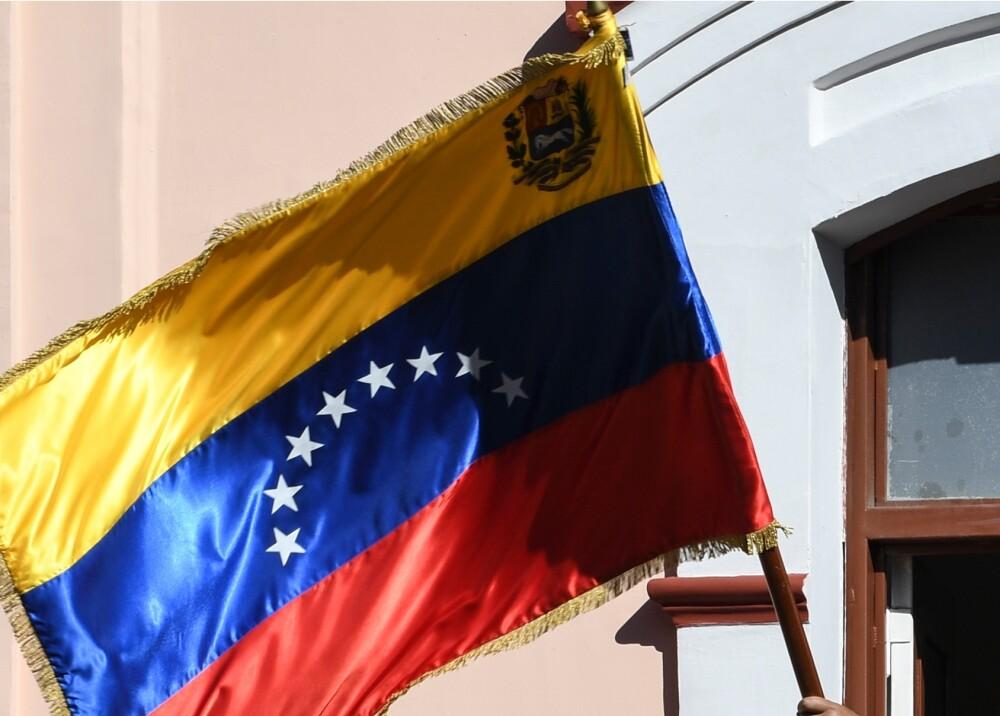Bandera de Venezuela // Foto: AFP