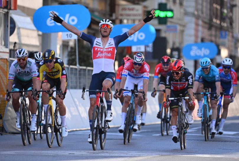 Jasper Stuyven ganó la Milán-San Remo 2021.
